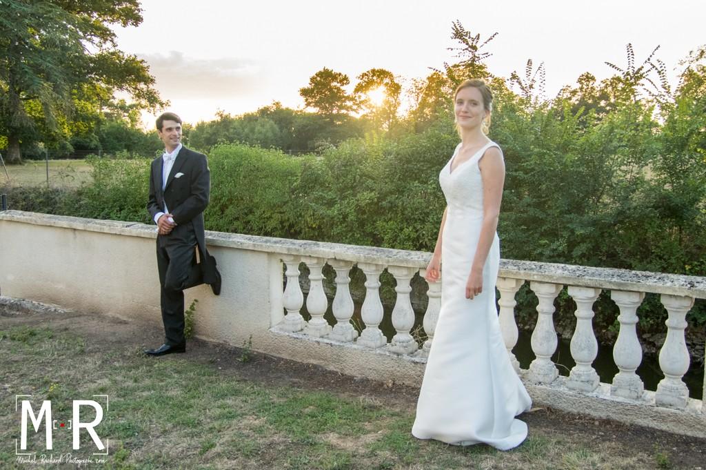 Mariage-Mariés-couple-coucher de soleil-Michel-Richard-flare