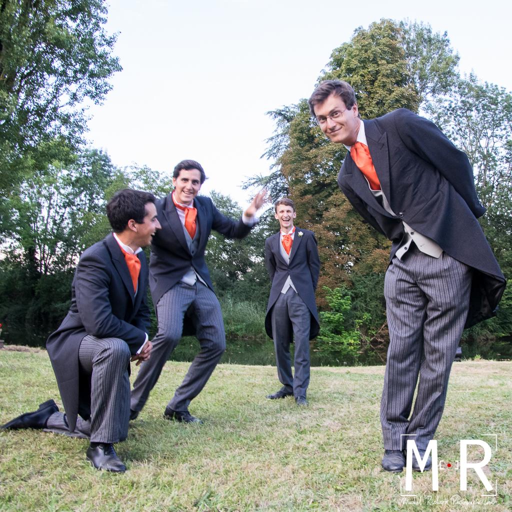 temoins avec le marié