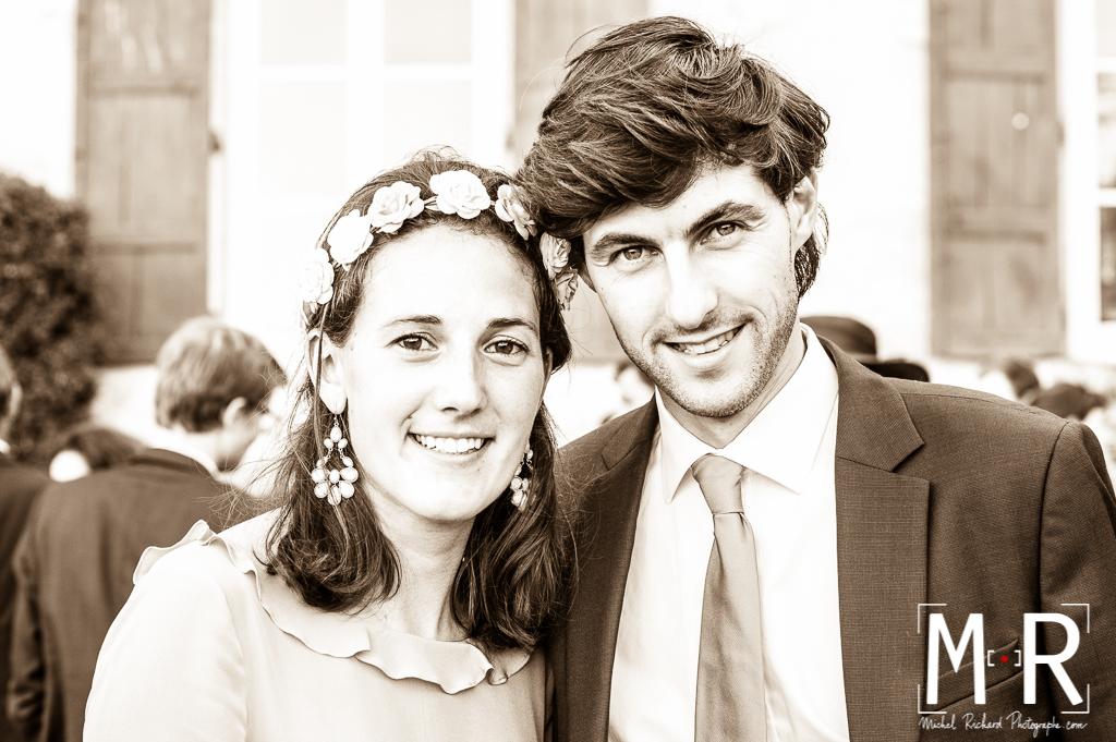 couple- Michel Richard photographe-sepia