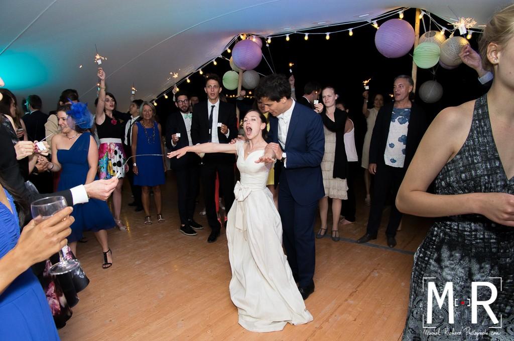 soirée des mariés