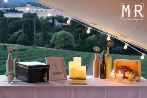 déco bougies et bohême de wedding planner mariage