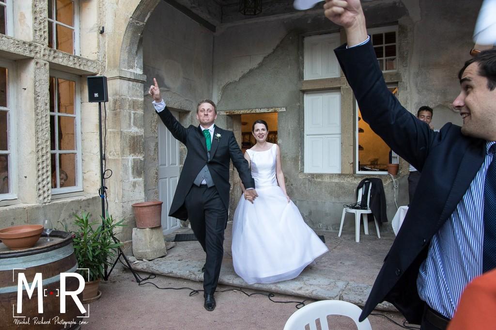 entrée des mariés