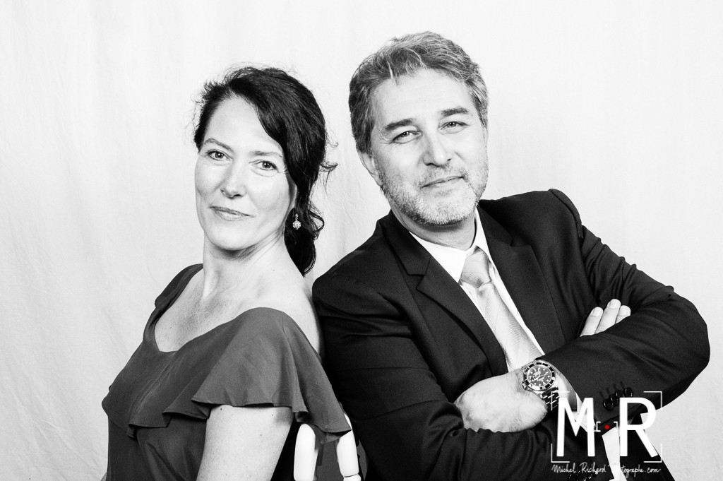 beaux portraits de couple photocall, studio photo avec photographe
